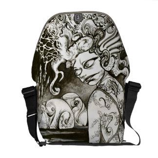 Squidgirl Messenger Bag