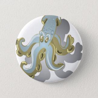 Squidy 6 Cm Round Badge