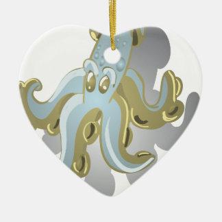Squidy Ceramic Ornament