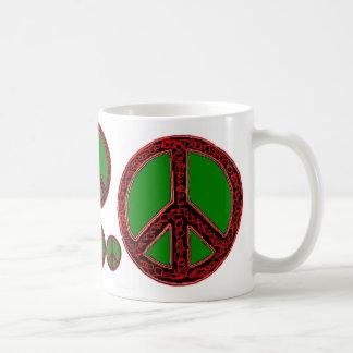Squiggle Peace Coffee Mug