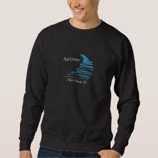 Squiggly Lines_Just Cruisin'_Myrtle Beach, SC Sweatshirt