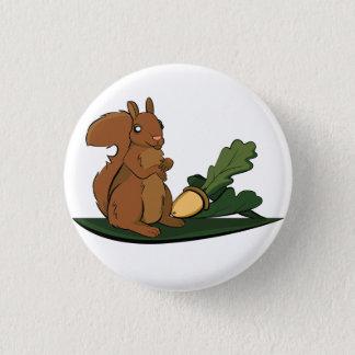 Squirrel 3 Cm Round Badge