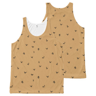 Squirrel All-Over Printed Unisex Vest All-Over Print Tank Top