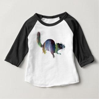 Squirrel art baby T-Shirt