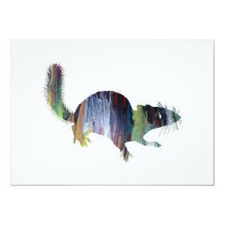 Squirrel art card