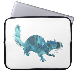 Squirrel art laptop sleeve