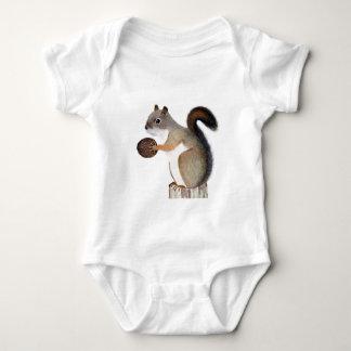 Squirrel Baby Bodysuit