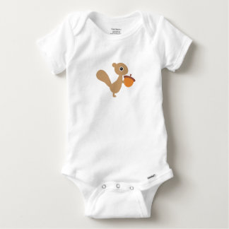 Squirrel Baby Onesie
