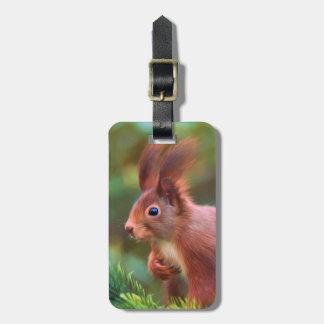 Squirrel Bag Tag