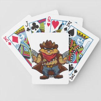Squirrel Bandit Bicycle Playing Cards