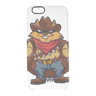 Squirrel Bandit Clear iPhone 6/6S Case