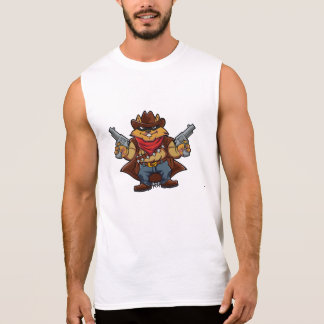 Squirrel Bandit Sleeveless Shirt