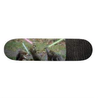 Squirrel board skate deck