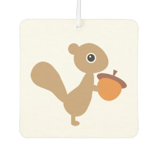 Squirrel Car Air Freshener