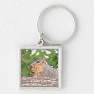Squirrel Ceramic Key Chain