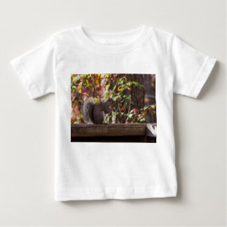 Squirrel Chow Time Baby T-Shirt