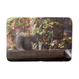Squirrel Chow Time Bath Mat