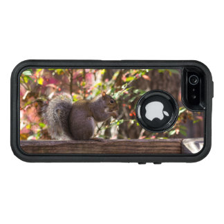 Squirrel Chow Time OtterBox Defender iPhone Case