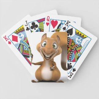 squirrel design bicycle playing cards