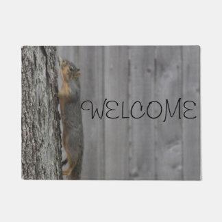 Squirrel Doormat