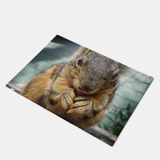 Squirrel Eating 1 Doormat