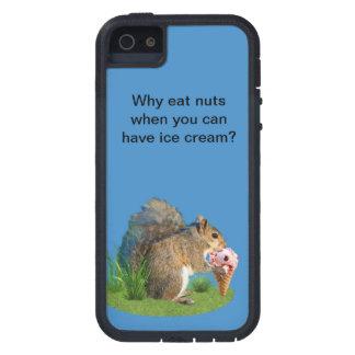 Squirrel Eating Ice Cream Cone iPhone 5 Cases