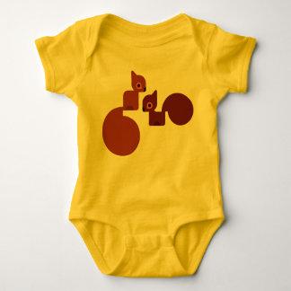 squirrel few baby bodysuit