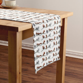 Squirrel Frenzy Table Runner