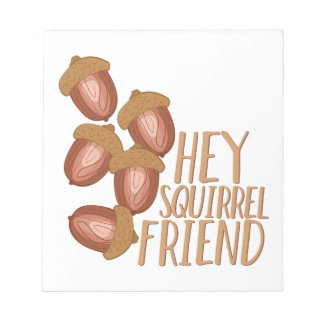 Squirrel Friend Notepads