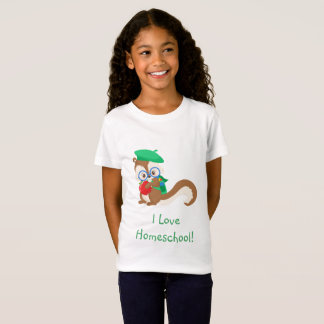 Squirrel Homeschool T-Shirt