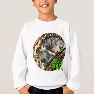 Squirrel in a Tree Photo Sweatshirt