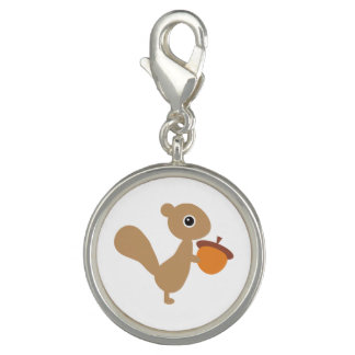 Squirrel Jewelry Charm