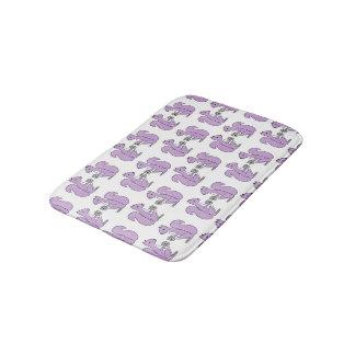 Squirrel - Lilac Pastel Purple / Andrea Lauren Bath Mats