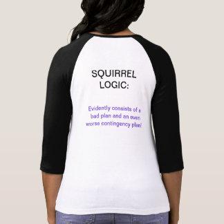 Squirrel Logic Tee Shirts