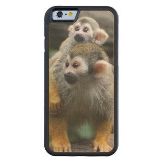 squirrel-monkey-29.jpg carved maple iPhone 6 bumper case