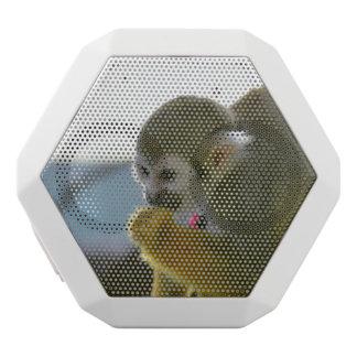 Squirrel Monkey White Boombot Rex Bluetooth Speaker