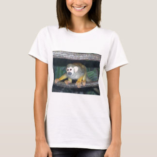 Squirrel Monkey Crouching T-Shirt