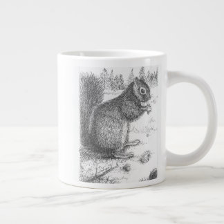 Squirrel Mug for left or right hand