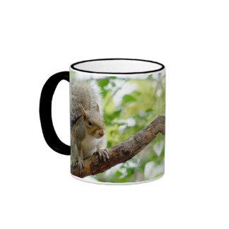 Squirrel on a Branch Animal Mug