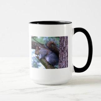 Squirrel on a Branch Mug