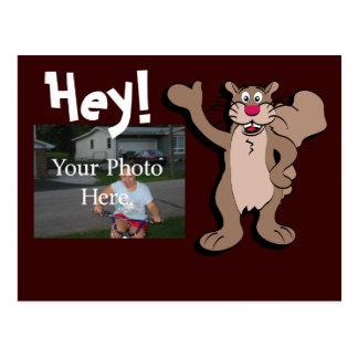 Squirrel Personalized Postcard