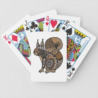 Squirrel Poker Deck