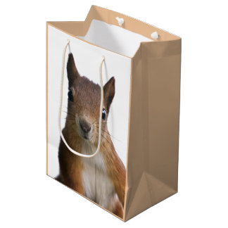 Squirrel Portrait Gift Bag