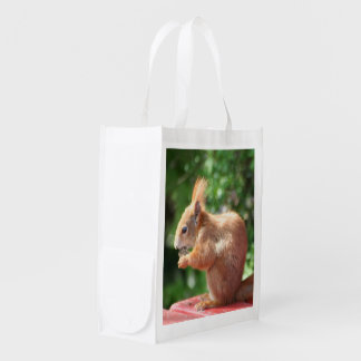 Squirrel Reusable Grocery Bag