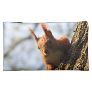 Squirrel Rodent Mammal Cosmetics Bags