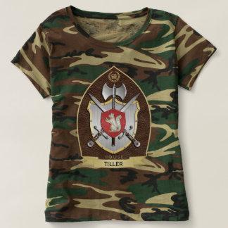 Squirrel Sigil Heraldry Crest Brown T-Shirt