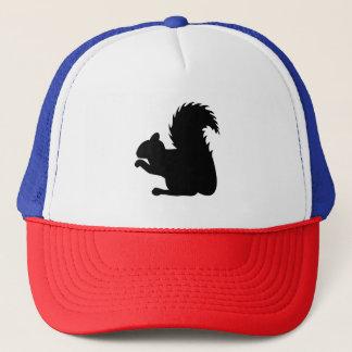 Squirrel Silhouette Trucker Hat