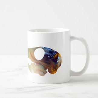 Squirrel Skull Art Coffee Mug