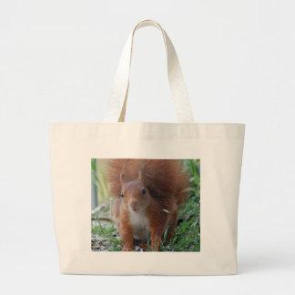 Squirrel squirrel Écureuil - Jean Louis Glineu Large Tote Bag