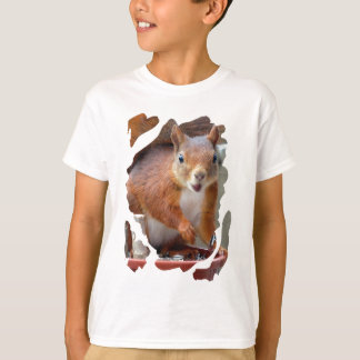 SQUIRREL SQUIRRELS ÉCUREUIL T-Shirt